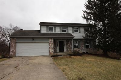 West Chester Single Family Home For Sale: 7838 Red Mill Drive