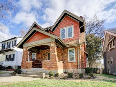Cincinnati Single Family Home For Sale: 1302 Grace Avenue