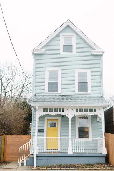 Cincinnati Single Family Home For Sale: 4137 Chambers Street