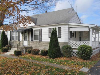 Wilmington OH Single Family Home For Sale: $139,500