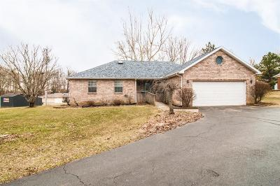 Preble County Single Family Home For Sale: 26 Dragon Drive