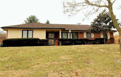 Cincinnati OH Single Family Home For Sale: $189,900