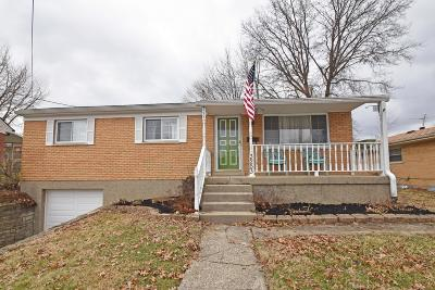 Cincinnati OH Single Family Home For Sale: $150,000