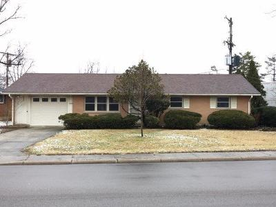 Wilmington OH Single Family Home For Sale: $104,900