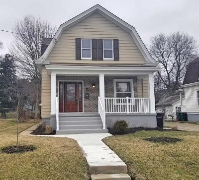 Cincinnati Single Family Home For Sale: 5726 Adelphi Street