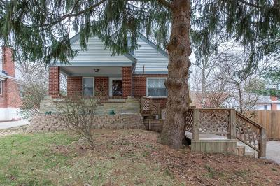 Cincinnati OH Single Family Home For Sale: $155,000