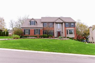 Blue Ash Single Family Home For Sale: 3627 Carpenters Green Lane