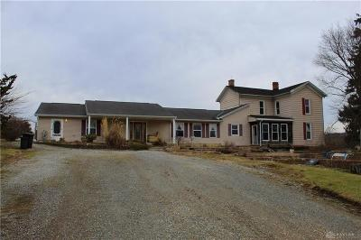 Preble County Single Family Home For Sale: 8437 Pleasant Valley Road
