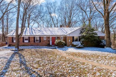 Single Family Home For Sale: 5813 Woodsway Drive