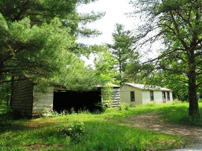 Adams County, Brown County, Clinton County, Highland County Single Family Home For Sale: 2136 Greenbrier Road