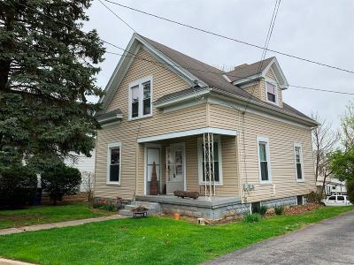 Adams County, Brown County, Clinton County, Highland County Single Family Home For Sale: 71 W Truesdell Street