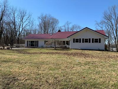Adams County, Brown County, Clinton County, Highland County Single Family Home For Sale: 6136 Blue Ribbon Road