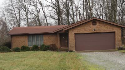 Adams County, Brown County, Clinton County, Highland County Single Family Home For Sale: 3542 Bardwell West Road
