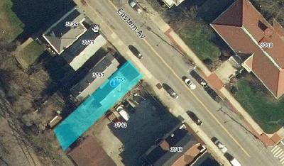 Cincinnati Residential Lots & Land For Sale: 3739 Eastern Avenue