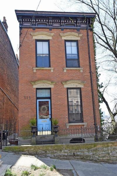 Cincinnati Single Family Home For Sale: 511 Milton Street