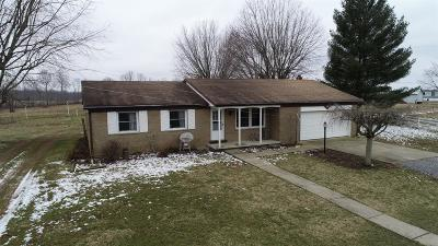 Adams County, Brown County, Clinton County, Highland County Single Family Home For Sale: 10326 St Rt 124