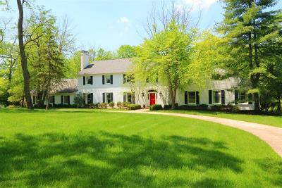 Indian Hill Single Family Home For Sale: 8625 Pipewell Lane