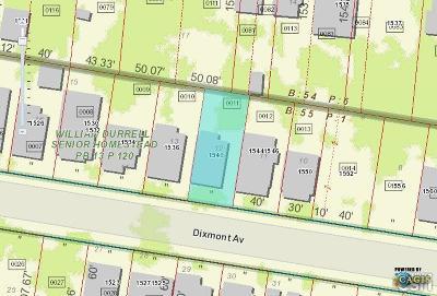 Cincinnati Residential Lots & Land For Sale: 1540 Dixmont Avenue #1623