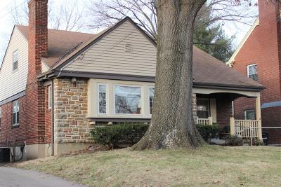 Cincinnati Single Family Home For Sale: 2506 Briarcliffe Avenue