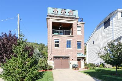 Cincinnati Single Family Home For Sale: 2901 Riverside Drive