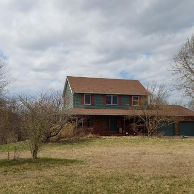 Adams County, Brown County, Clinton County, Highland County Single Family Home For Sale: 6255 St Rt 125