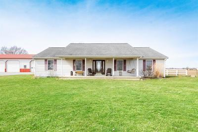 Adams County, Brown County, Clinton County, Highland County Single Family Home For Sale: 7759 Oak Grove Road