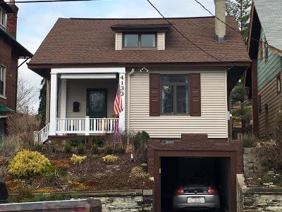 Cincinnati Single Family Home For Sale: 4133 Kirby Avenue
