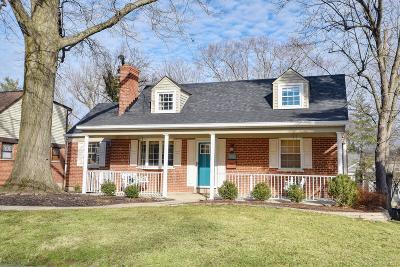 Hamilton County Single Family Home For Sale: 7252 Berwood Drive