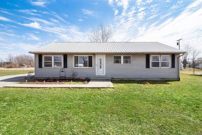 Adams County, Brown County, Clinton County, Highland County Single Family Home For Sale: 13260 Livmore Lane