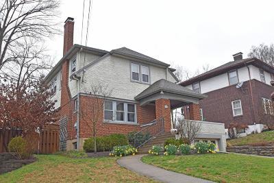 Cincinnati Single Family Home For Sale: 1311 Duncan Avenue