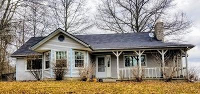 Adams County, Brown County, Clinton County, Highland County Single Family Home For Sale: 4931 Savage Road