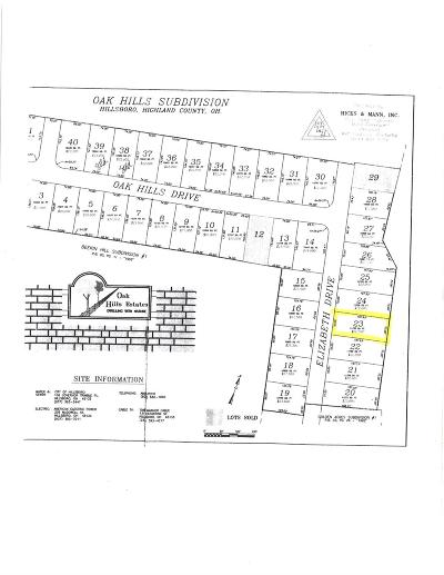 Highland County Residential Lots & Land For Sale: Elizabeth Drive