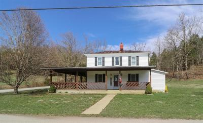 Adams County, Brown County, Clinton County, Highland County Single Family Home For Sale: 560 Beasley Fork Road