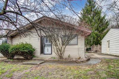 Fairfield Single Family Home For Sale: 5604 Tallawanda Drive