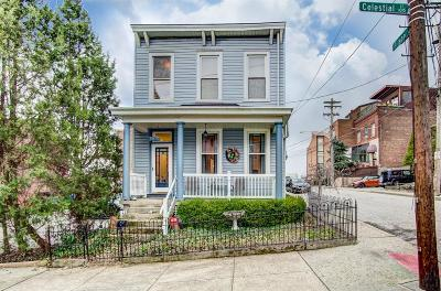 Cincinnati Single Family Home For Sale: 1015 Celestial Street