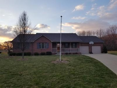 Lawrenceburg, Aurora, Bright, Brookville, West Harrison, Milan, Moores Hill, Sunman, Dillsboro Single Family Home For Sale: 920 Doesprings Dr