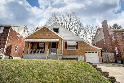 Cheviot Single Family Home For Sale: 3746 Marydell Place