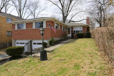 Cincinnati OH Single Family Home For Sale: $189,000