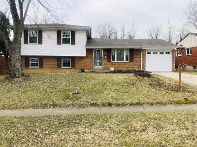 Cincinnati OH Single Family Home For Sale: $89,900