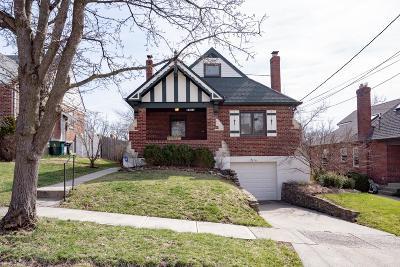 Cincinnati Single Family Home For Sale: 4118 Club View Drive