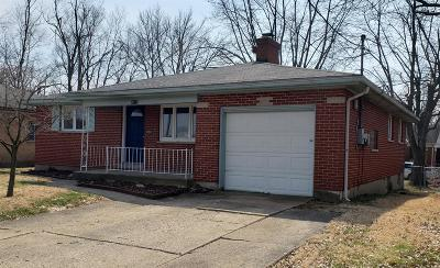 Green Twp Single Family Home For Sale: 4013 Westwood Northern Boulevard