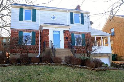 Cincinnati OH Single Family Home For Sale: $255,000