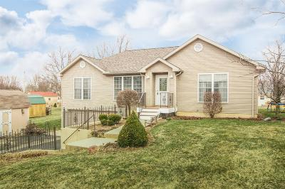 Preble County Single Family Home For Sale: 124 Saxon Cove