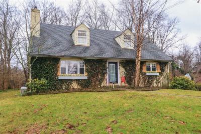 Cincinnati Single Family Home For Sale: 811 Finney Trail