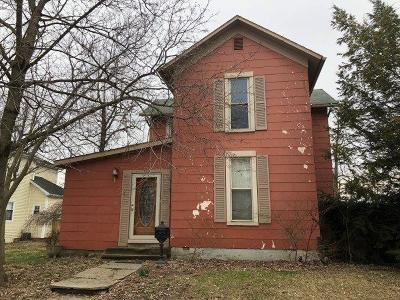 Sabina OH Single Family Home For Sale: $39,900