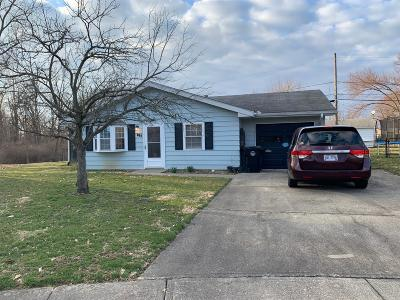 Wilmington OH Single Family Home For Sale: $79,900