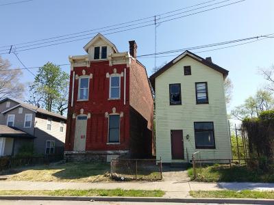 Cincinnati Multi Family Home For Sale: 747 Wayne Street
