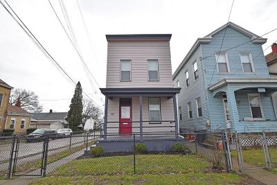 Cincinnati Single Family Home For Sale: 1643 Cooper Street