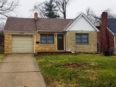 Cincinnati Single Family Home For Sale: 3264 Vittmer Avenue