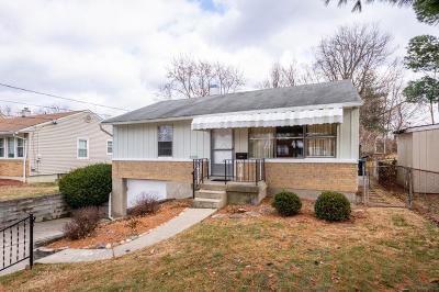 Cincinnati Single Family Home For Sale: 3431 Gerold Drive